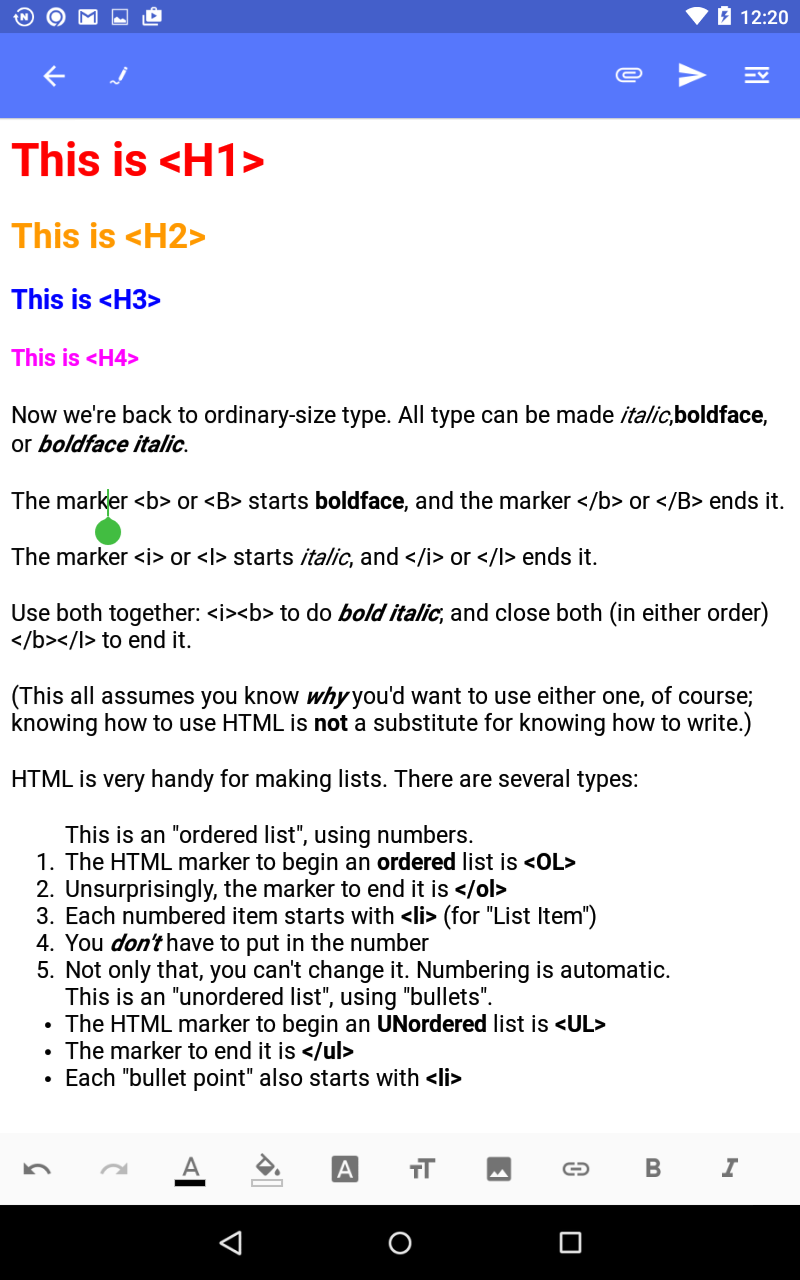 Tip 1: How to use the WYSIWYG HTML editor newly including in